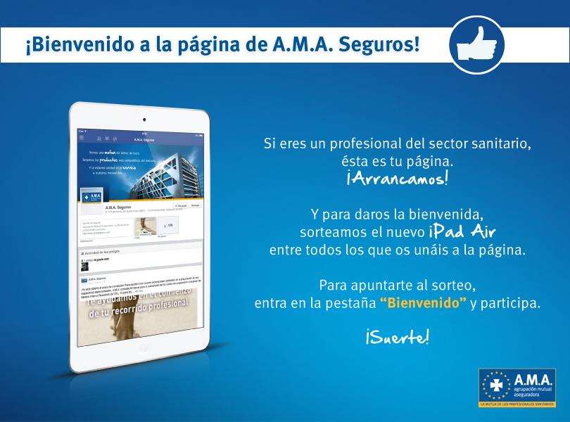 Sorte iPad Air con A.M.A.