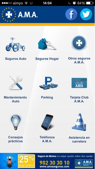 App A.M.A. Seguros