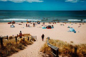 Playa y zonas de baño